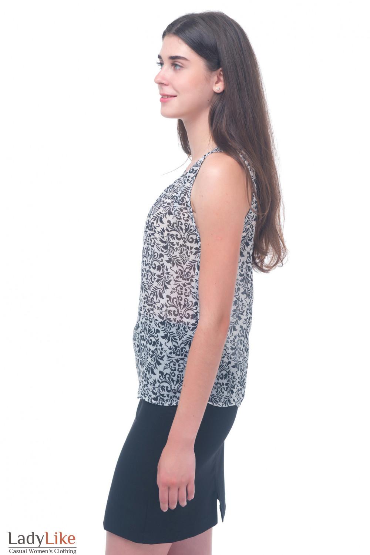 Купить шифоновый топ Деловая женская одежда
