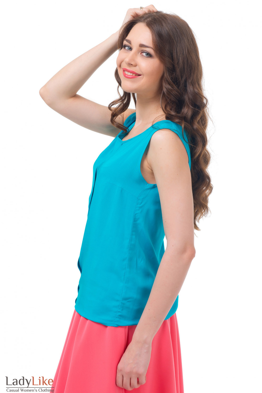 Купить летний топ Деловая женская одежда