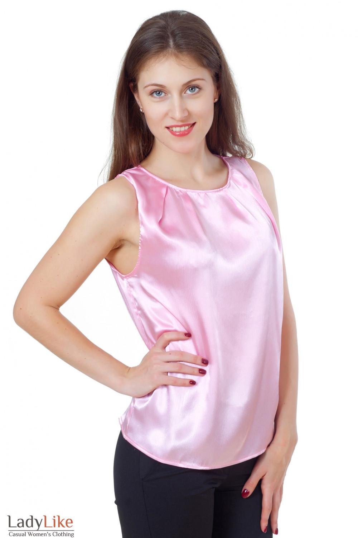 Купить розовый топ Деловая женская одежда
