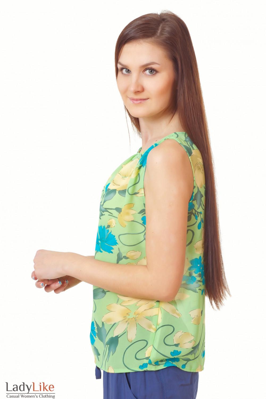 Купить топ из шифона Деловая женская одежда