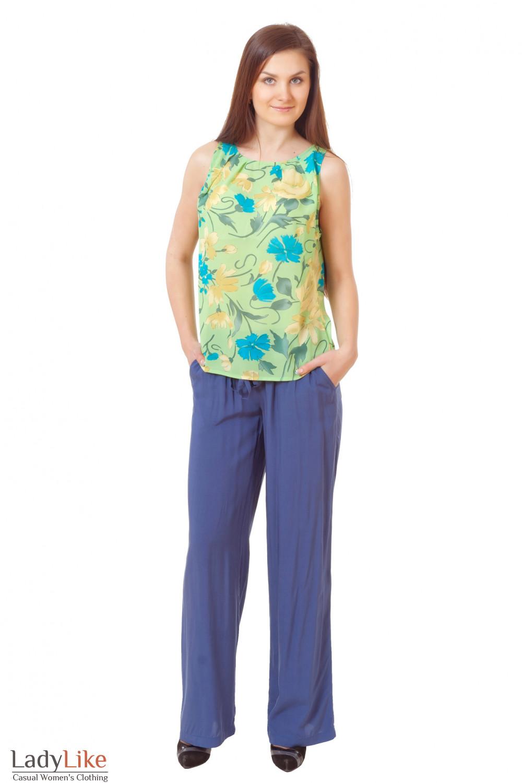 Купить топ с летними брюками Деловая женская одежда