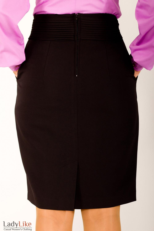 Фото Юбка-бочонок Деловая женская одежда