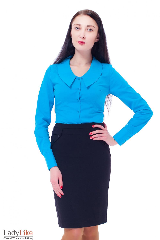 Купить юбку-бочечка Деловая женская одежда