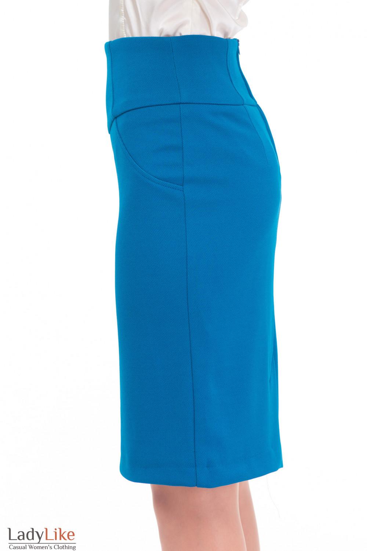 Купить трикотажную юбку Деловая женская одежда