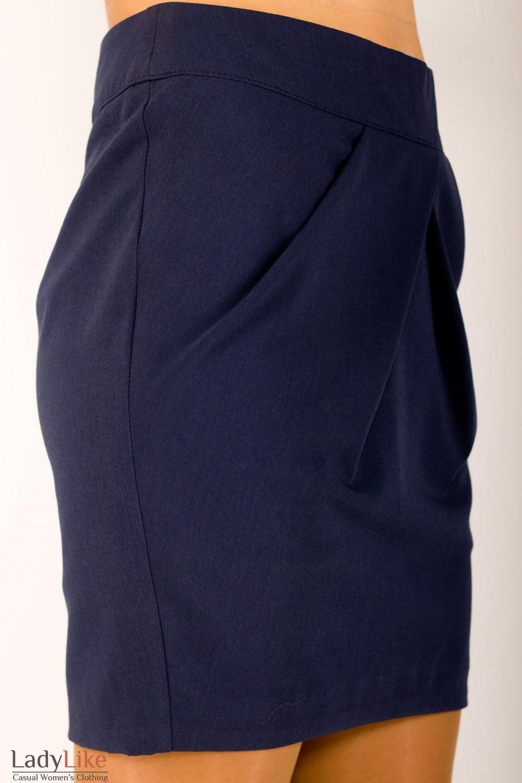 Фото Юбка с защипами Деловая женская одежда
