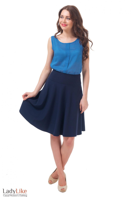 Купить юбку за колено Деловая женская одежда