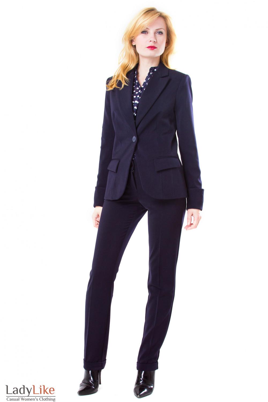 Фото Брючный костюм Деловая женская одежда