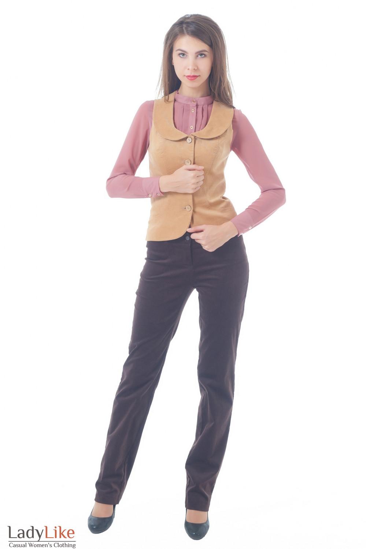 Купить вельветовый костюм Деловая женская одежда