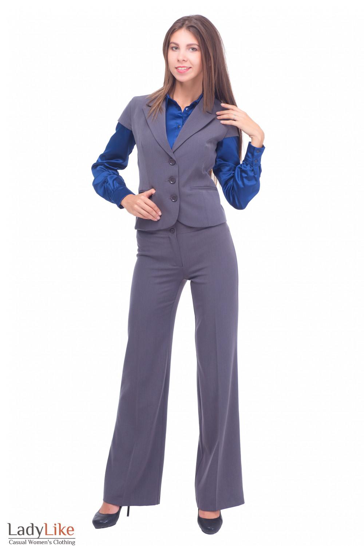 Купить брюки с жилетом Деловая женская одежда