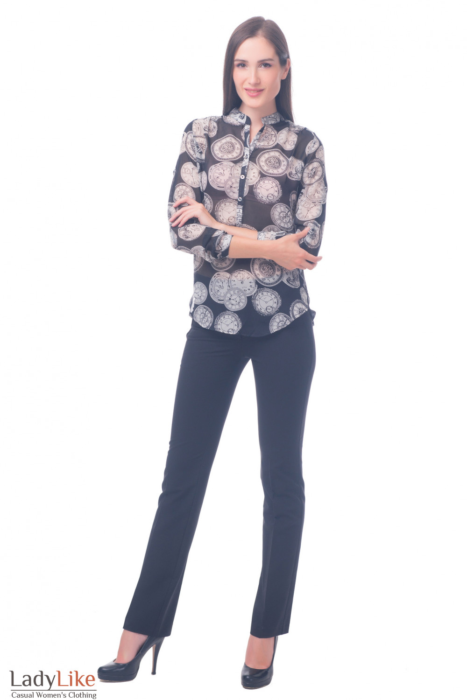 Фото Блузка стильная Деловая женская одежда