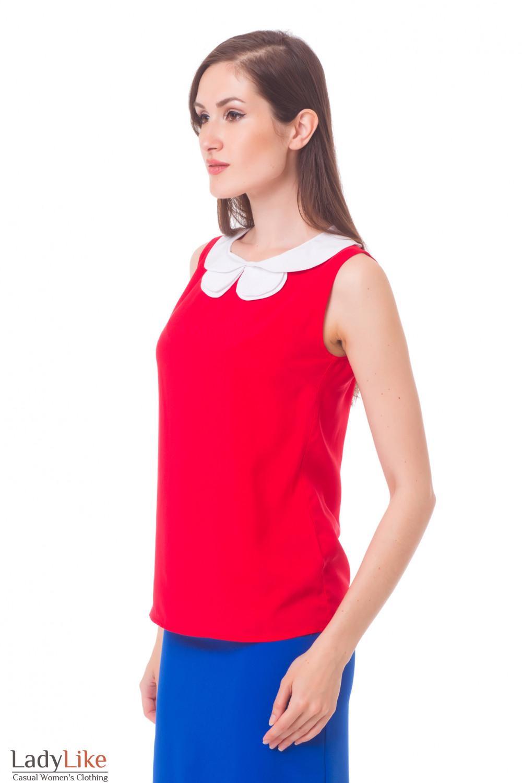 Купить красный топ Деловая женская одежда