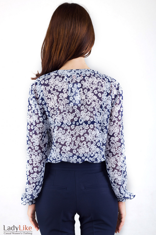 Фото Блузка под костюм Деловая женская одежда