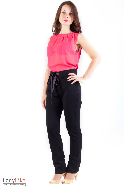 Фото Брюки завышенная талия Деловая женская одежда