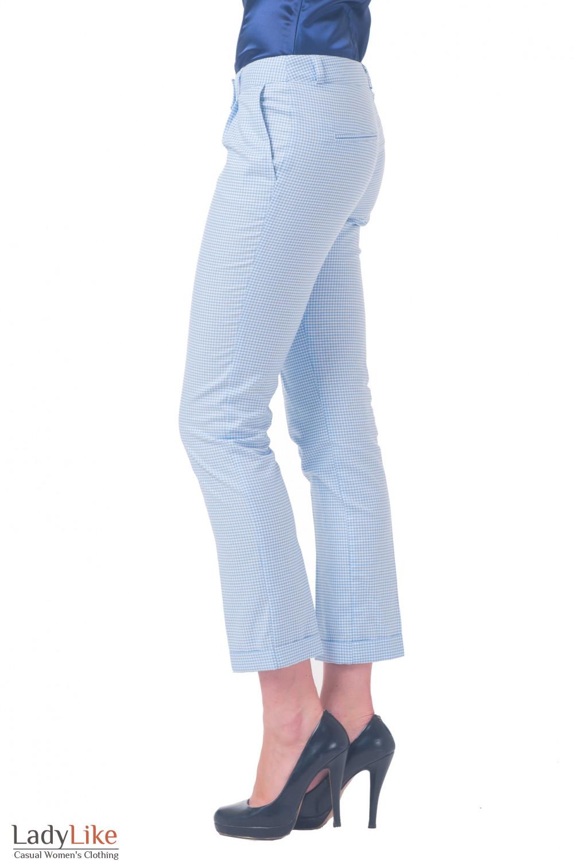 Купить брюки в клеточку Деловая женская одежда