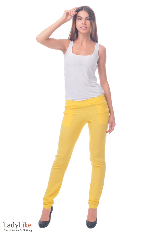 Фото Хлопковые брюки Деловая женская одежда