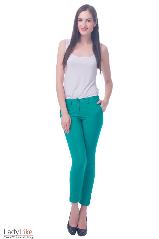 Фото Легкие летние брюки Деловая женская одежда