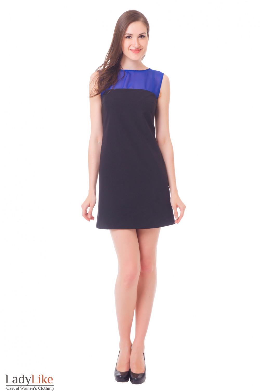 Купить платье с шифоном Деловая женская одежда
