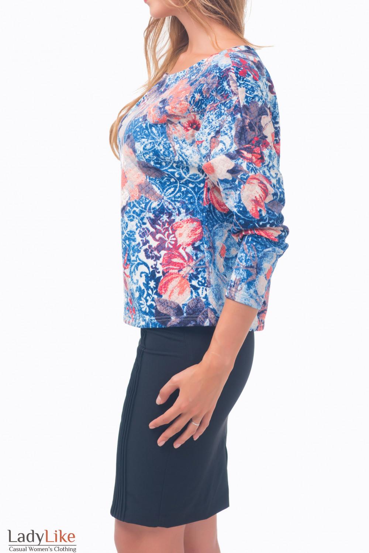 Купить теплый джемпер Деловая женская одежда