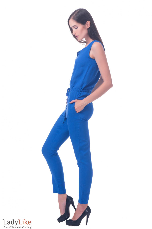 Фото Брючный комбинезон Деловая женская одежда