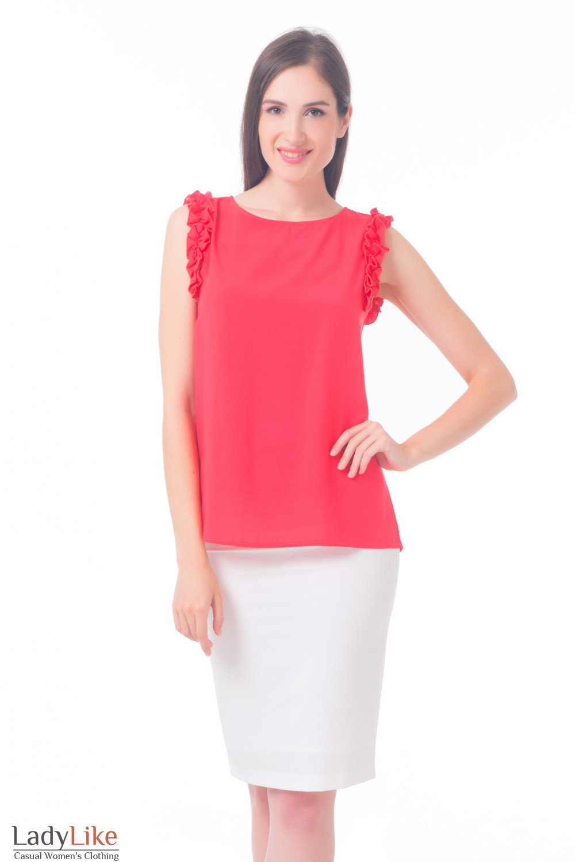 Купить зауженную молочную юбку Деловая женская одежда