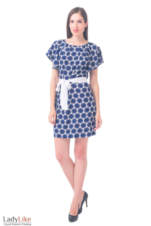 Купить платье в ромашки Деловая женская одежда