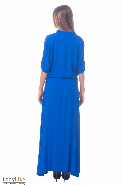 Фото Платье летнее длинное Деловая женская одежда