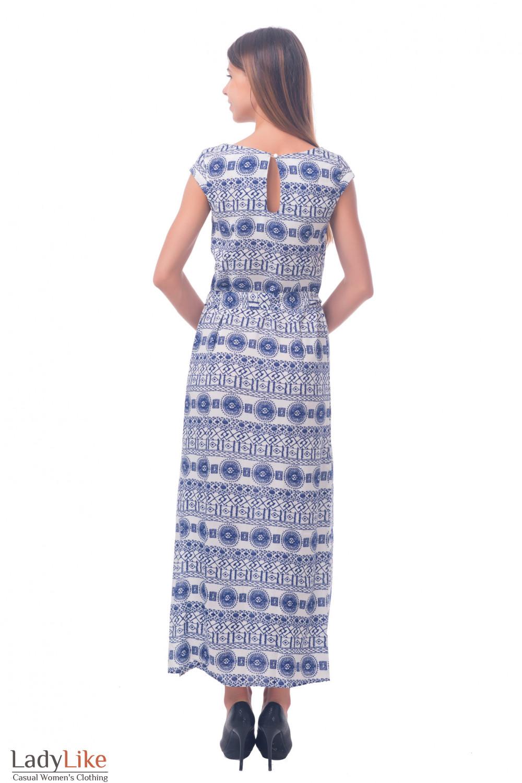 Фото Платье длинное летнее Деловая женская одежда