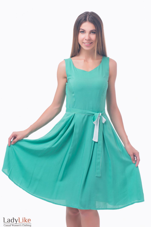 Фото Летнее платье Деловая женская одежда