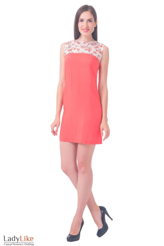 Купить платье морковного цвета Деловая женская одежда