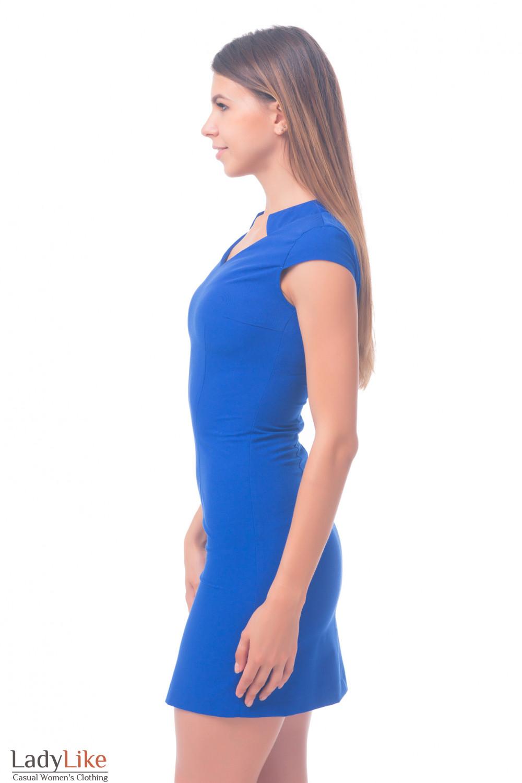 Фото Платье с коротким рукавом Деловая женская одежда
