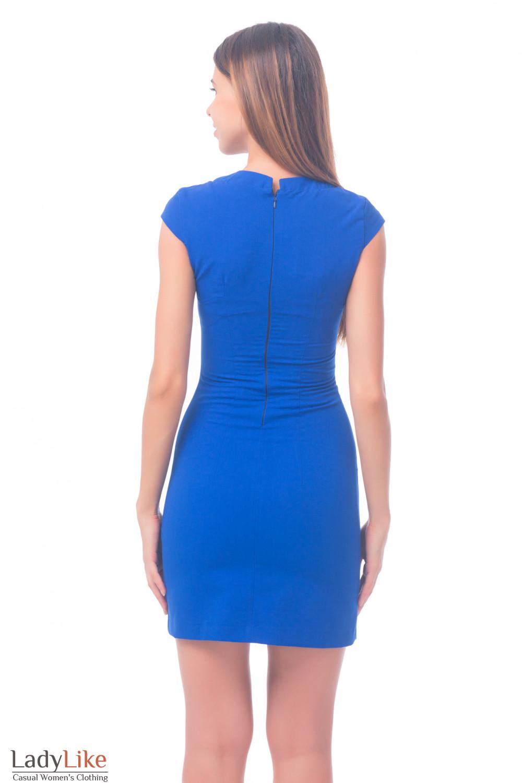 Фото Платье цвета электрик Деловая женская одежда