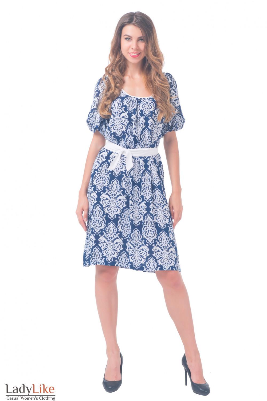 Купить просторное платье Деловая женская одежда