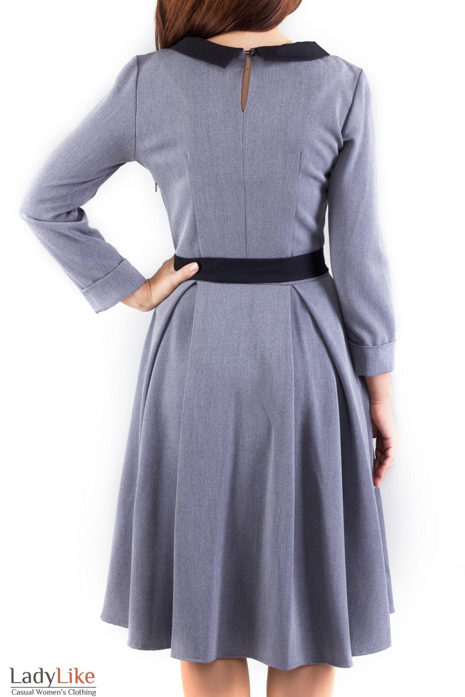 Фото Платье под пояс Деловая женская одежда