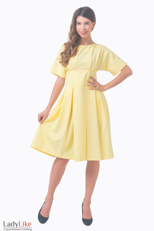 Купить нарядное платье с широким поясом Деловая женская одежда