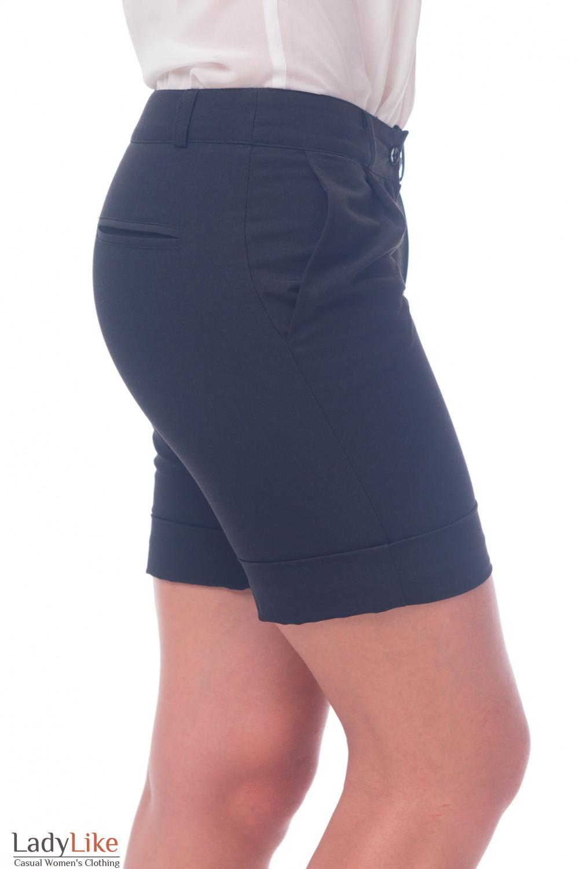 Фото Шорты с карманами Деловая женская одежда