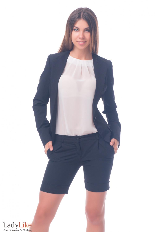 Фото Шорты в офис Деловая женская одежда