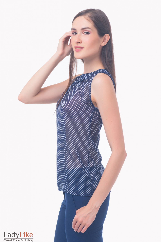 Фото Топ из шифона Деловая женская одежда