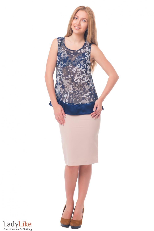 Купить юбку ниже колена Деловая женская одежда