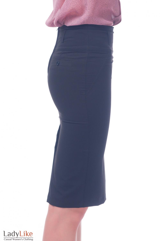 Фото Юбка зауженная Деловая женская одежда