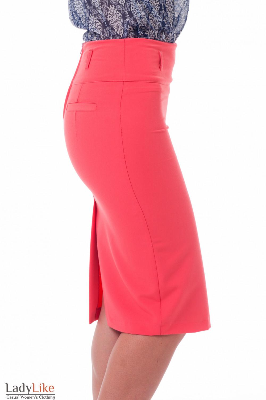 Строгая зауженная юбка-карандаш Деловая женская одежда