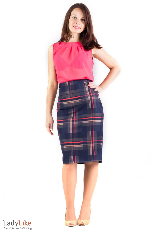 Фото Юбка ниже колена Деловая женская одежда