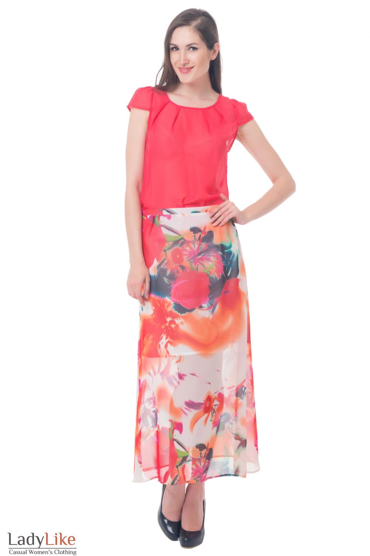 Купить юбку длинную Деловая женская одежда
