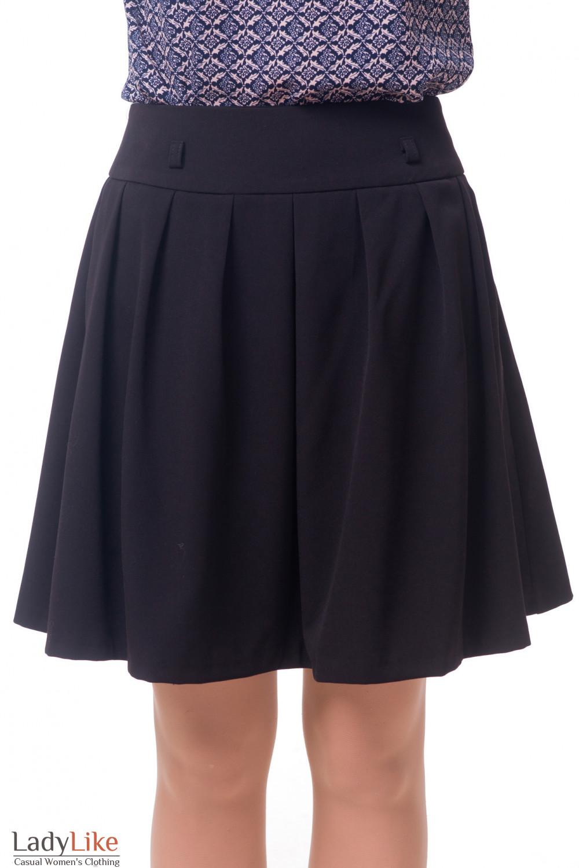Пышная юбка деловая