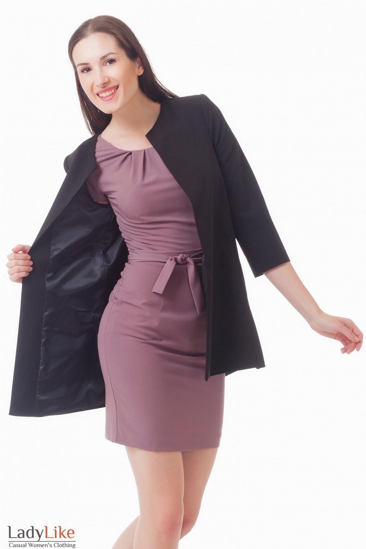 Купить кардиган с карманами Деловая женская одежда