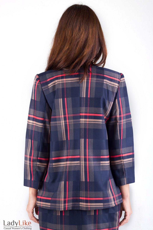 Фото Жакет с карманами Деловая женская одежда