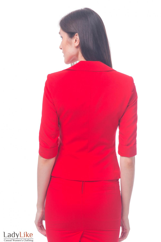 Фото Жакет с коротким рукавом Деловая женская одежда