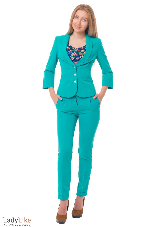 Женские костюмы перово