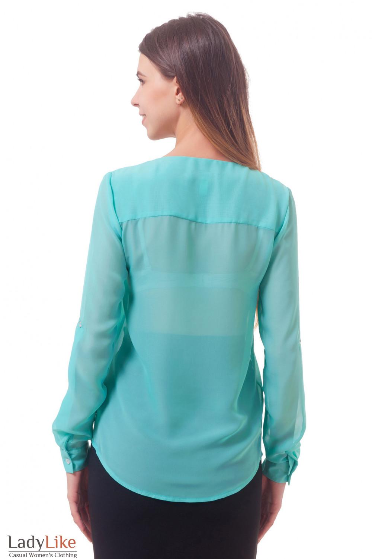 Фото Легкая блузка Деловая женская одежда