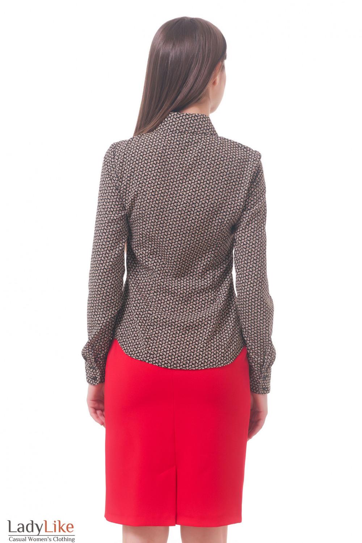 Фото Блузка-рубашка Деловая женская одежда