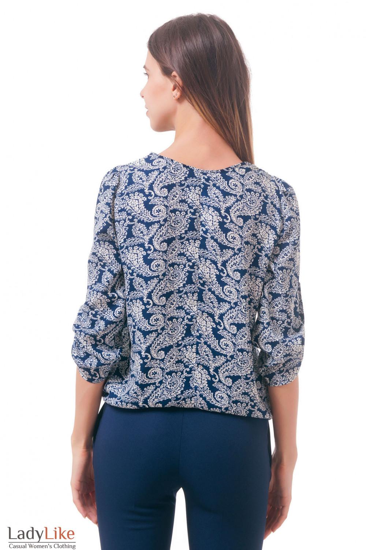 Фото Блузка на резинке Деловая женская одежда